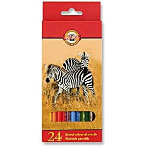 Набор цветных карандашей Koh-i-Noor Животные
