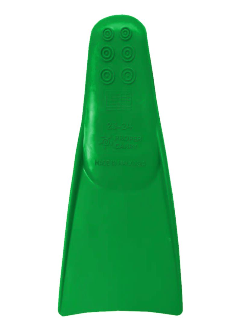Ласты для грудничкового плавания ProperCarry зеленые 23-24, - фото 2